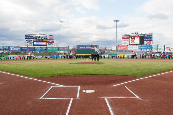 The view from home plate