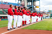 Pawtucket Red Sox line up