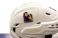 New York Riveters helmet