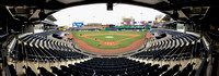 Panoramic view of Dunkin' Donuts Park